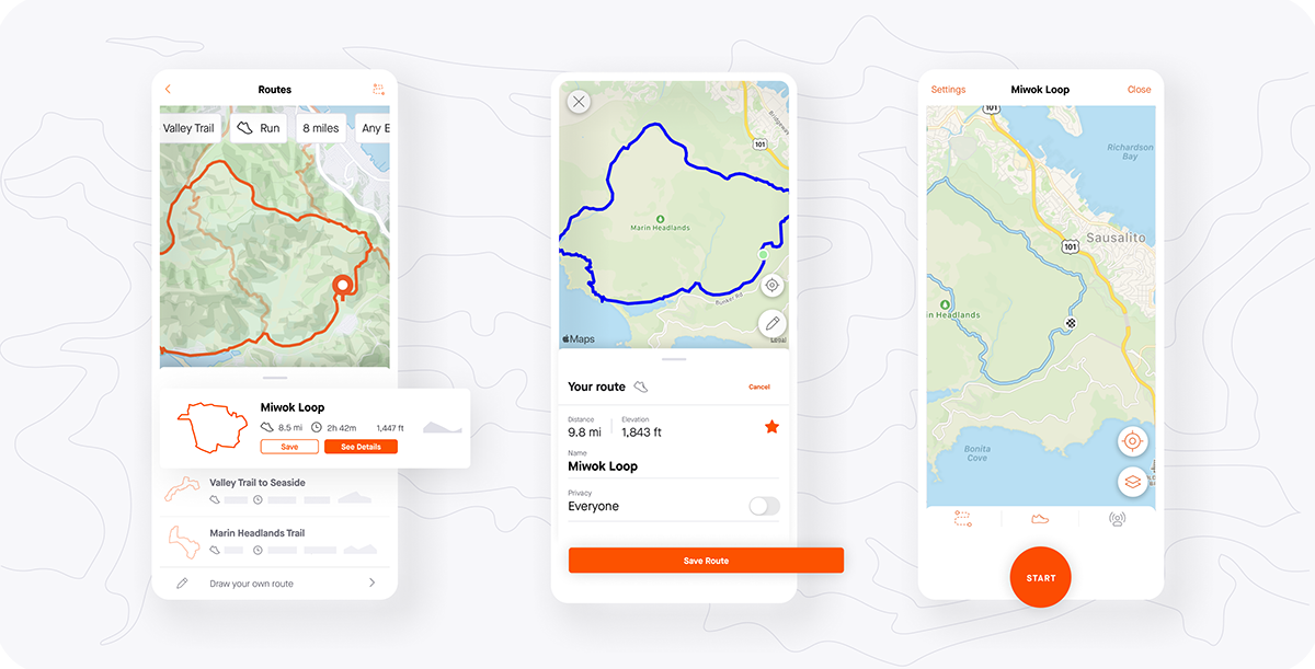 Strava Application